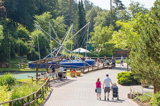 Bungee Tampolin Eifelpark