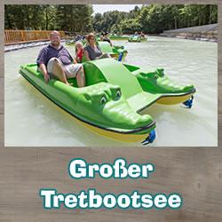 Pedal boat ride Eifel Luxembourg