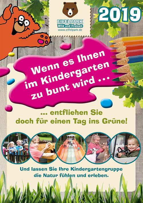 Kindergarten Ausflug Eifel RLP 2019