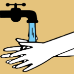 Regelmäßig Händewaschen