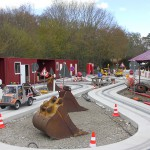 Eifelpark Baustellenfahrt