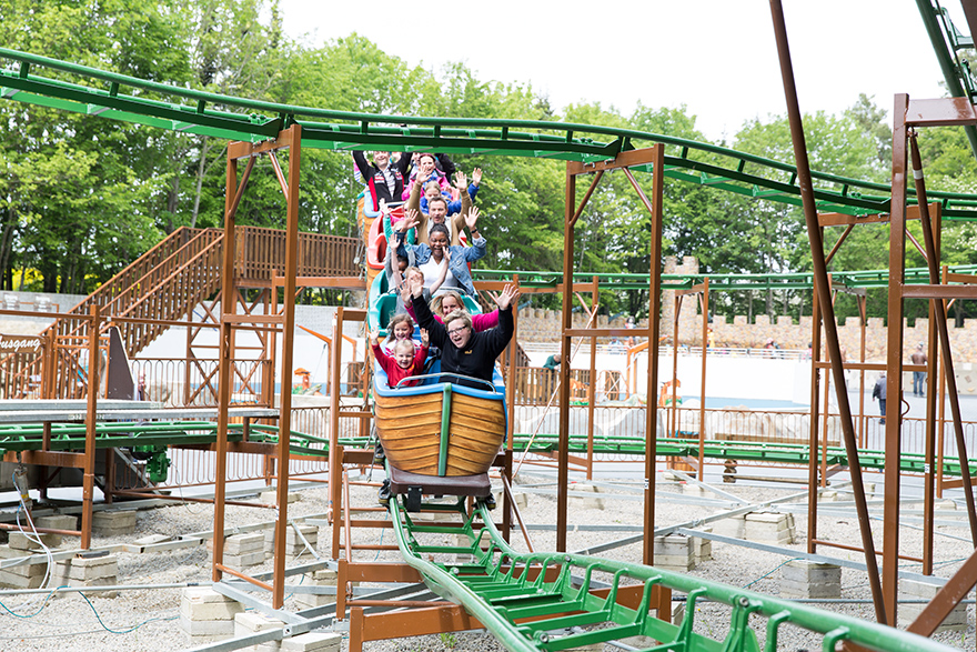 Familienachterbahn Eifelpark-Blitz