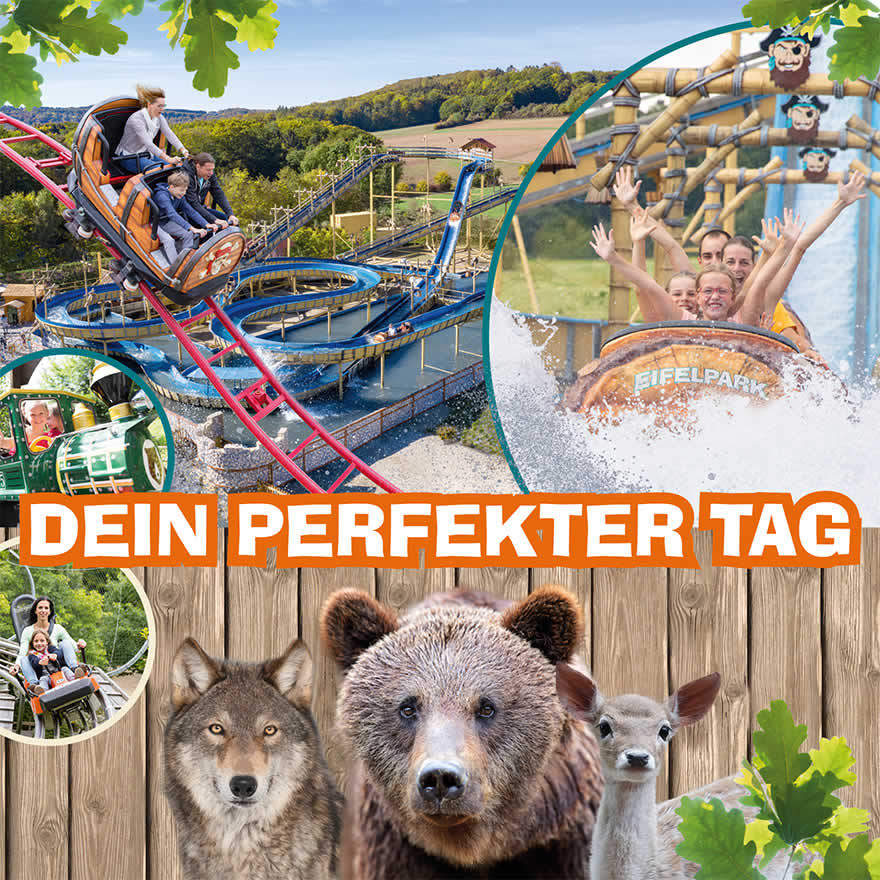 Ausflugsziel Eifel Vatertag Himmelfahrt 2019 Eifelpark Gondorf