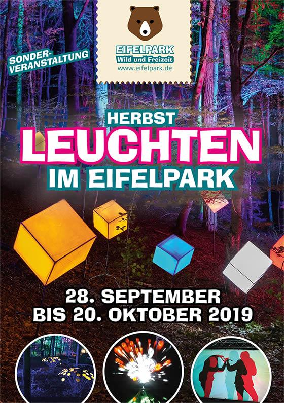 Eifelpark Herbstleuchten 2019 Flyer