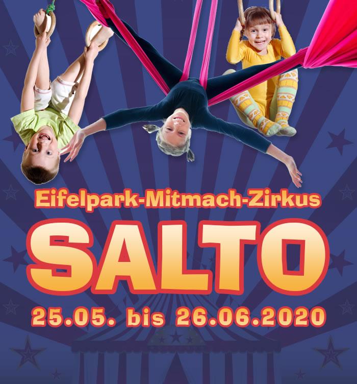 Eifelpark Mitmach Zirkus Salto 2020