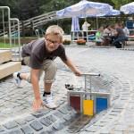 Wasserspielplatz im Eifelpark