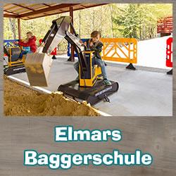 Baggerspielplatz Elmars Baggerschule