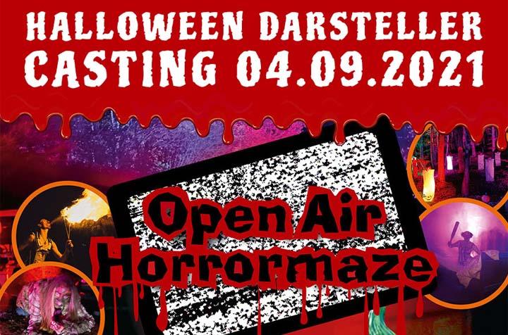 Halloween Erschrecker Casting Eifelpark 2021