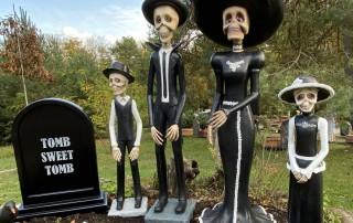 Halloween Herbstferien Ausflug Familie Freizeitpark