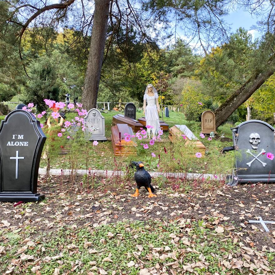 Halloween Herbstferien Freizeitpark Eifelpark