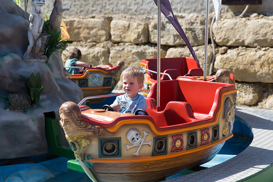Mini Piratenfahrt
