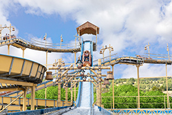 Eifelpark | Wildwasserbahn Pirateninsel