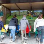 Purzels Schubkarren-Rennen