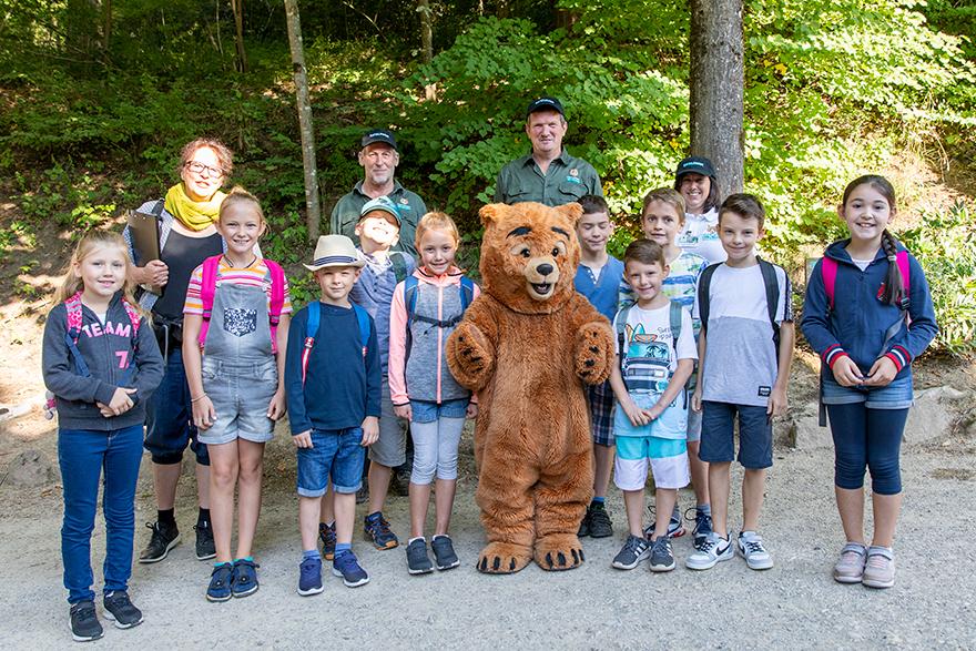Schulausflug in den Eifelpark rlp