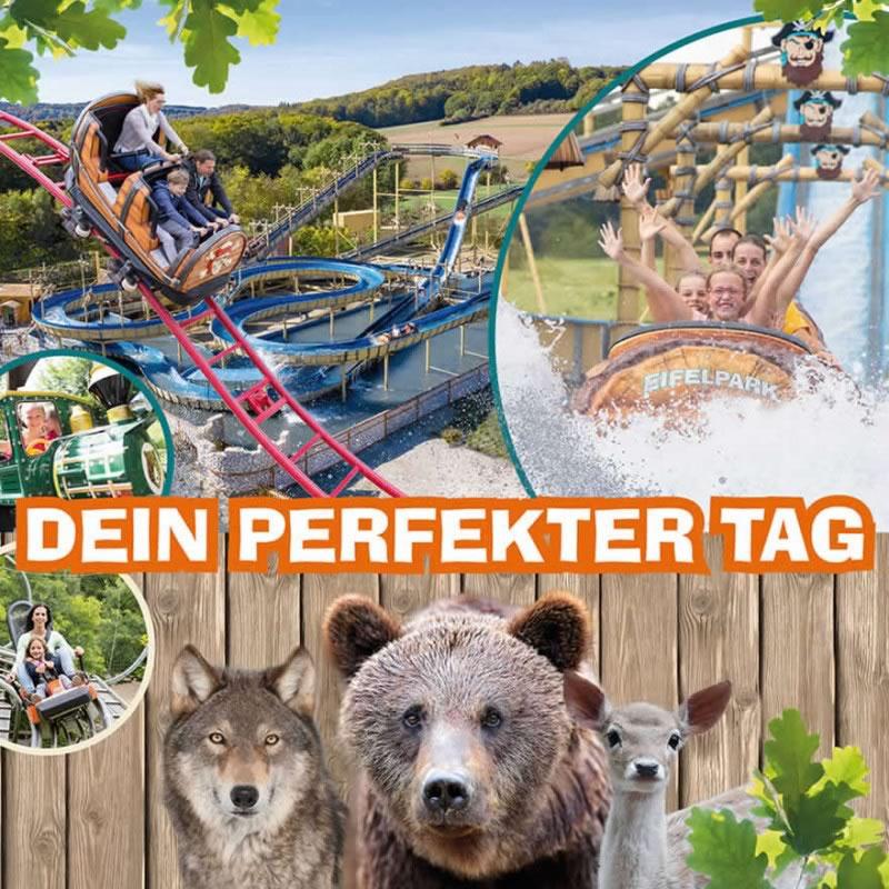 Ausflugsziel rlp Eifel Pfingsten 2019 Eifelpark Gondorf nrw