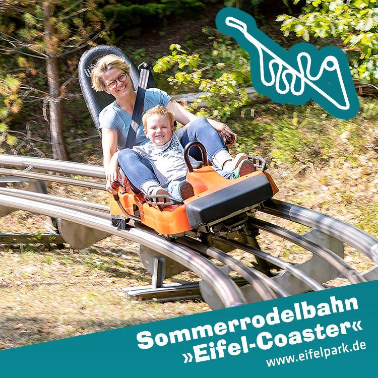 Sommerrodelbahn Alpine Coaster Eifel Eifelpark