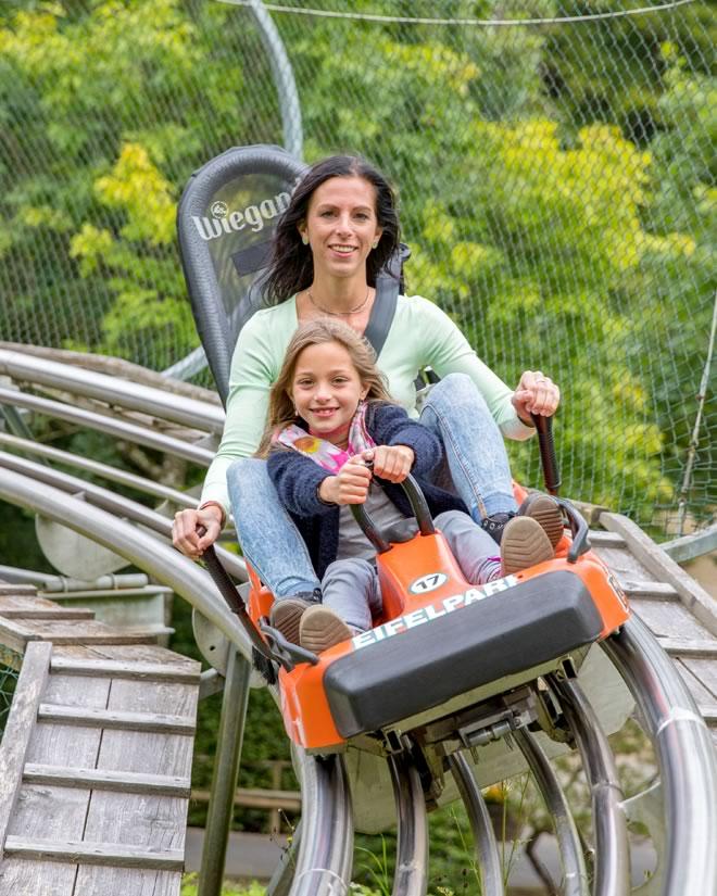 Sommerrodelbahn Eifelpark rlp