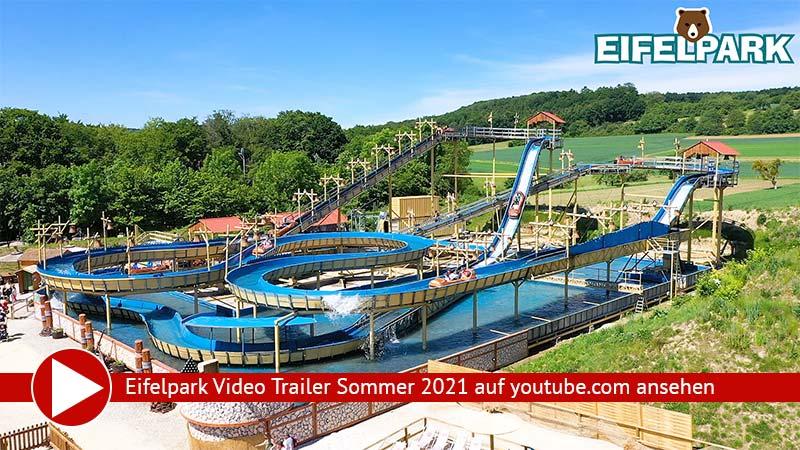 Freizeitpark Eifelpark Video Sommerferien 2021 auf YouTube ansehen