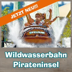 Wildwasserbahn Pirateninsel
