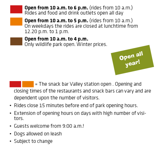 Eifelpark Opening Hours
