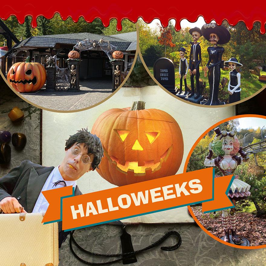 Halloween amusement park germany 2020