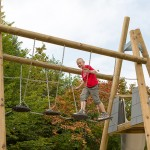 Climbing garden for children