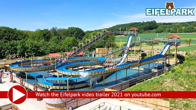 Amusementpark Eifelpark Germany Video 2021