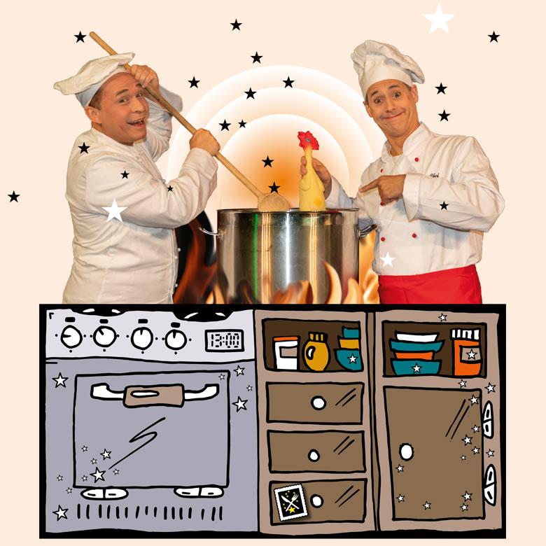 Die zauberhafte Comedy Küche