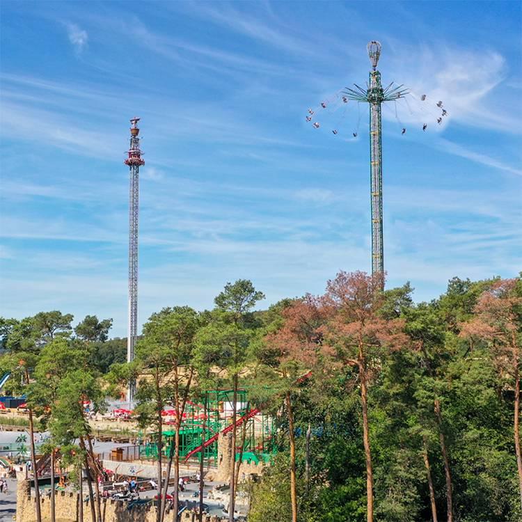 80 meter Graviator vrije val toren