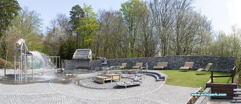 Waterspeeltuin Eifelpark Gondorf Duitsland